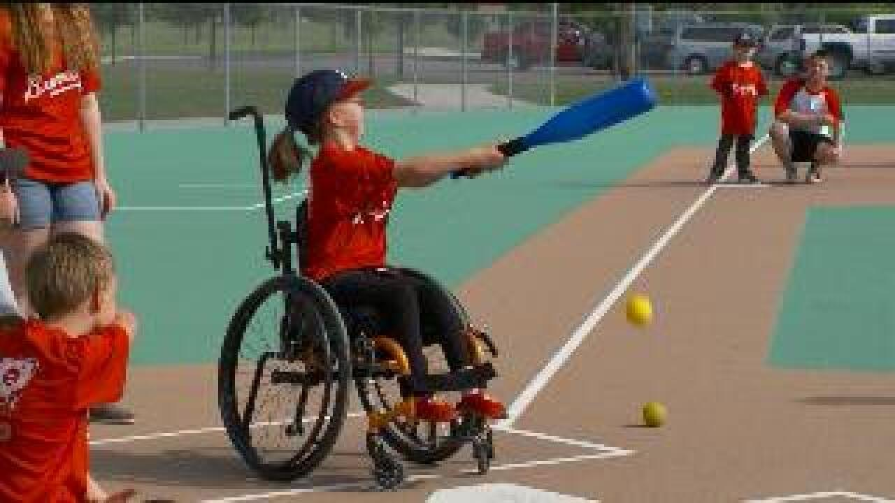 Miracle League lets kids with disabilities play ball