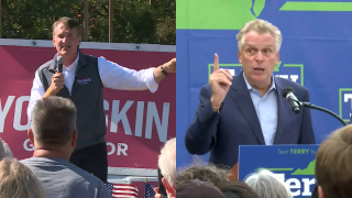 Youngkin, McAuliffe sharpen attacks on one another as Virginians vote for governor