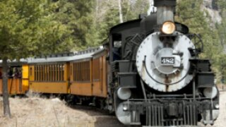Travel Channel casting for Butch Cassidy train robbery reenactment in Durango
