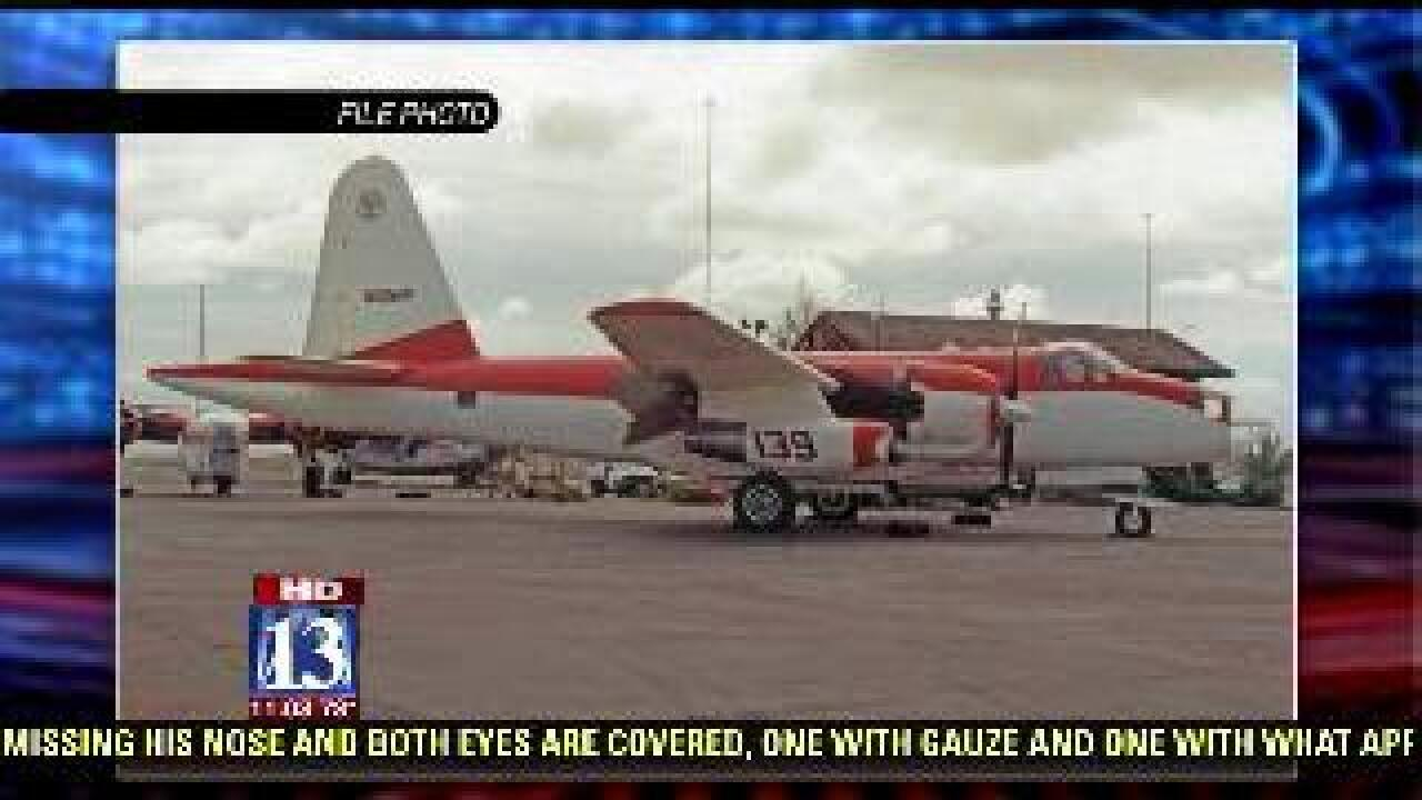 NTSB releases preliminary report on air tanker crash