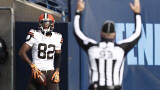 Browns Titans Football