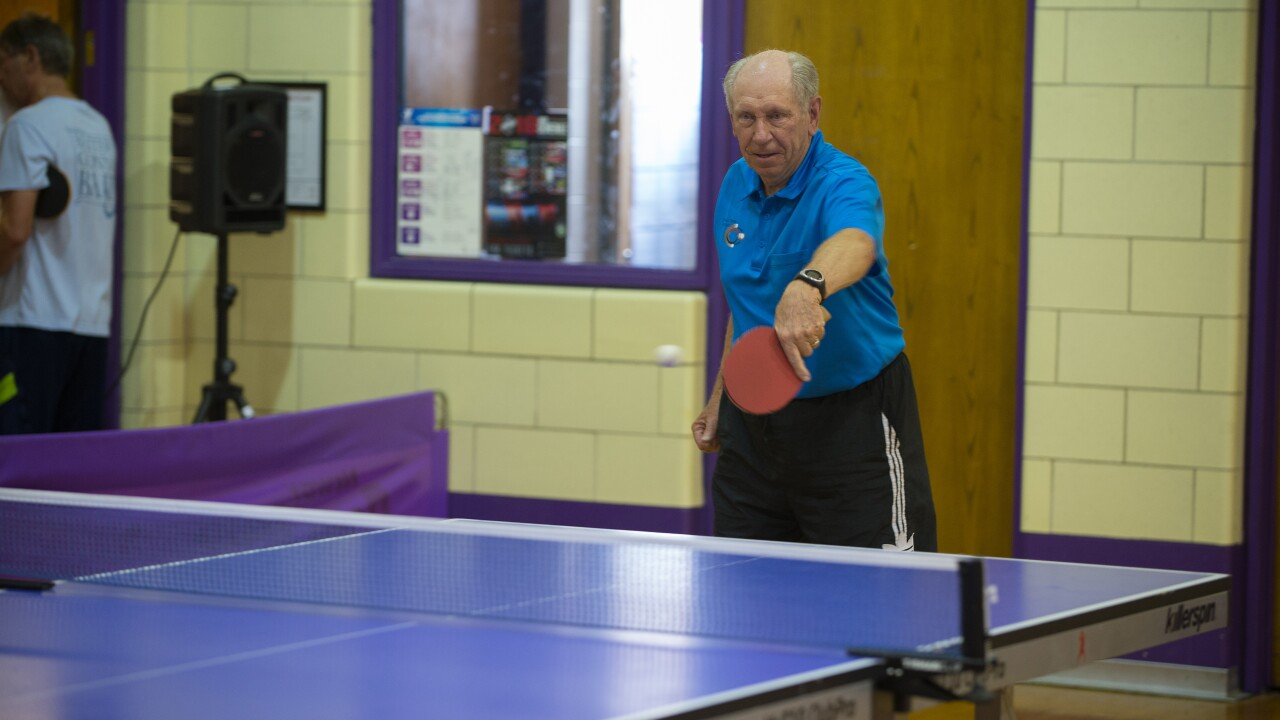 Table tennis competition at the 2018 Rocky Mountain State Games
