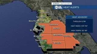 Heat Advisory 07/26/2021