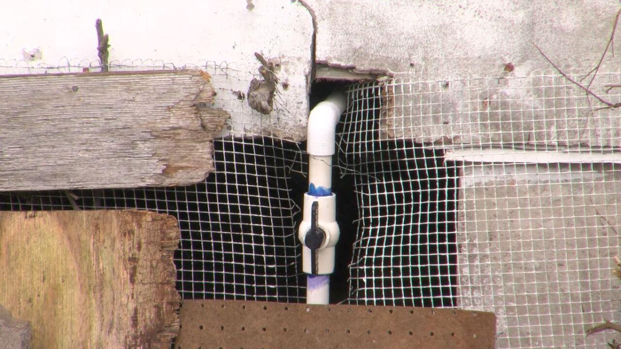 water leak fixed at a Padre Island home.JPG
