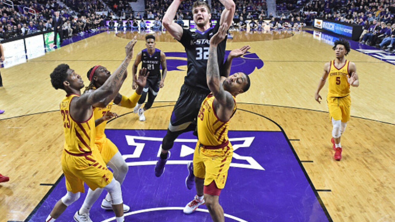 Dean Wade leads K-State to victory over Iowa State 78-66