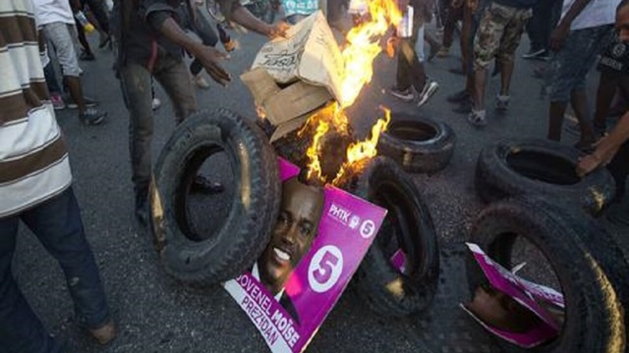 Haiti: Jovenel Moise apparently wins presidential vote