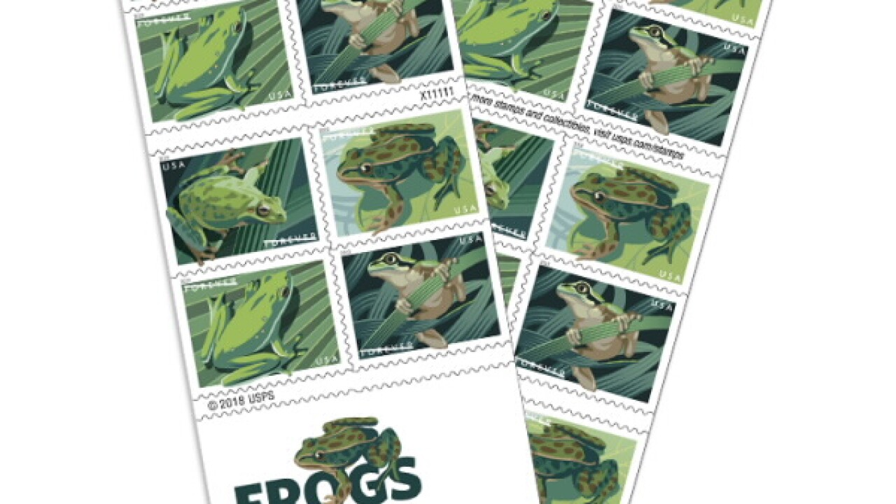 Frog stamps 2