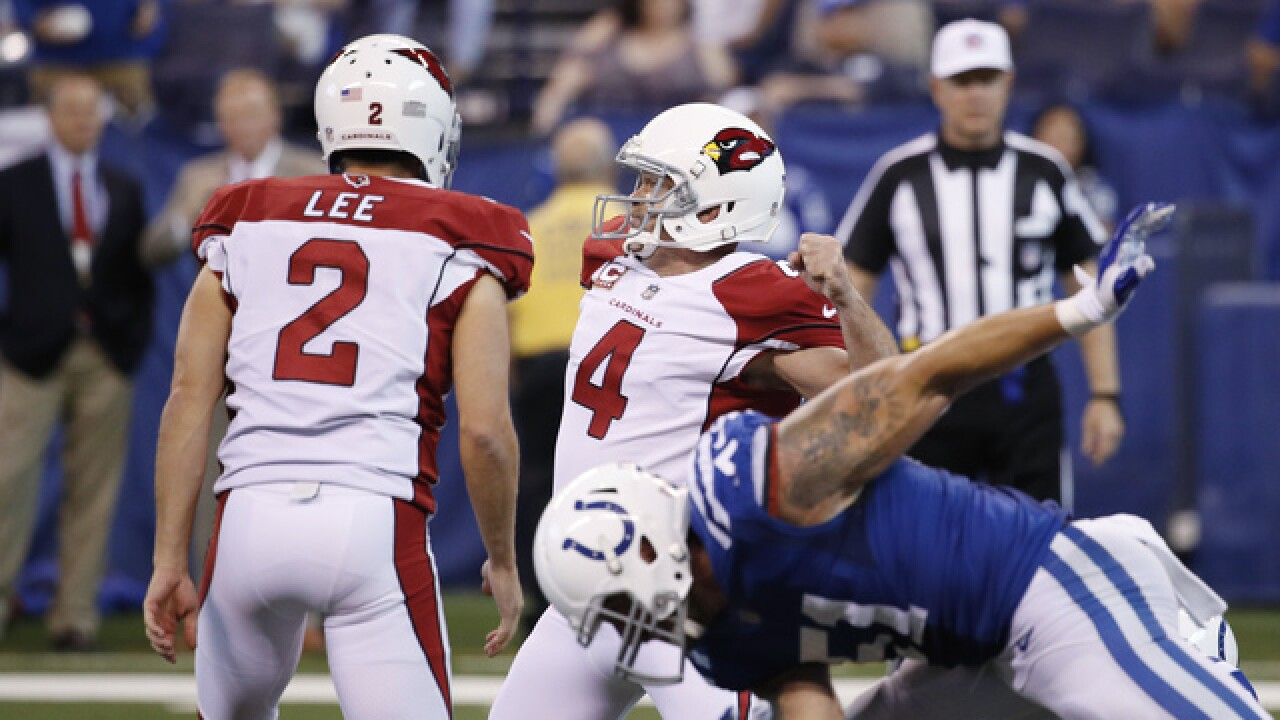 Colts fall to Cardinals 16-13 in overtime