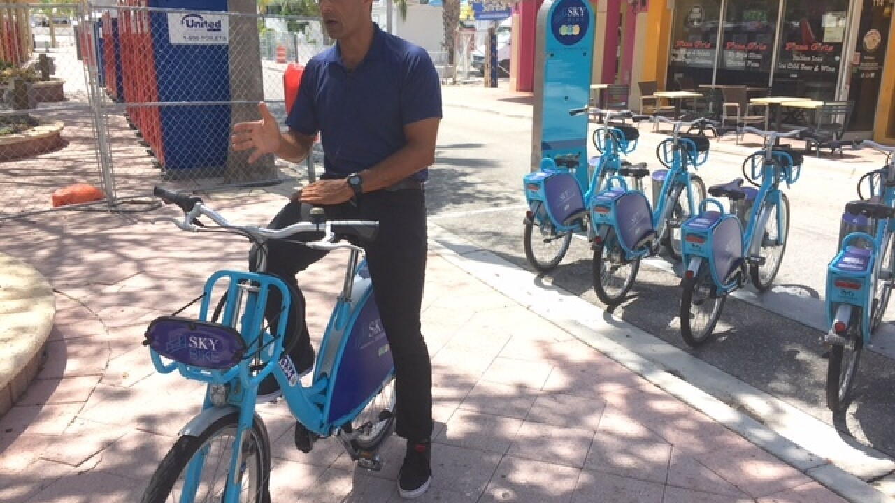 Don't want to drive to SunFest? Consider bike, boat or Uber to downtown festival