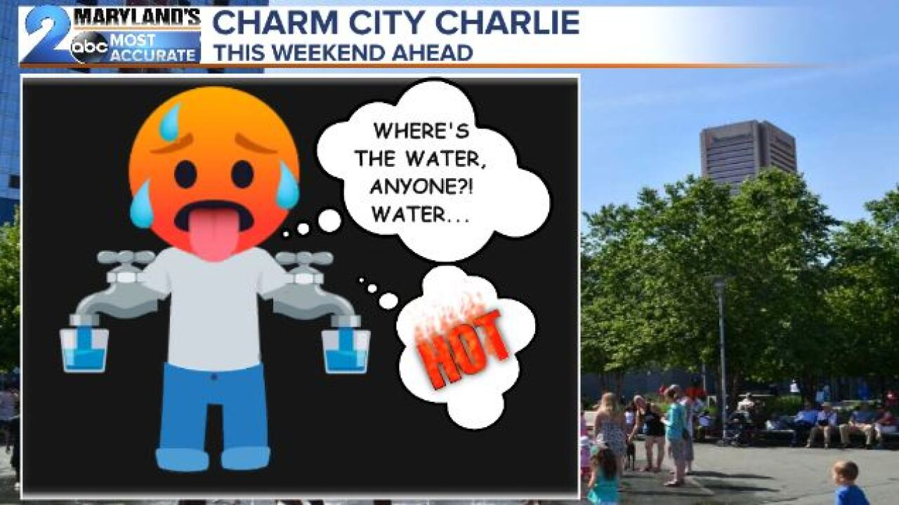 Charm City Charlie Braces For The Heat