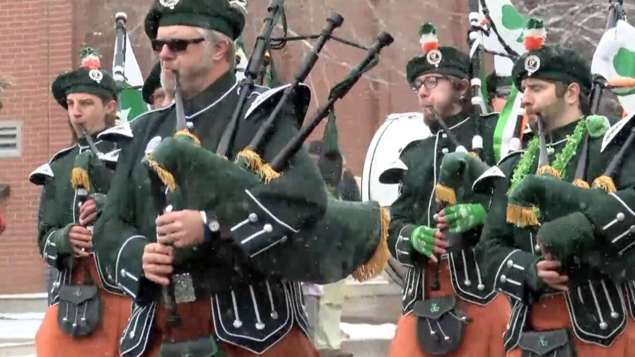 File photo of St. Patrick's Day parade in Butte