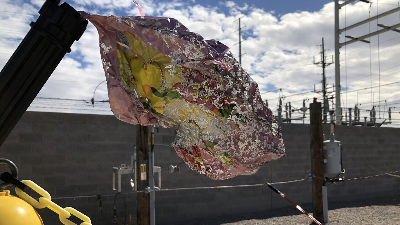 NV Energy: Mylar balloons cause multiple Las Vegas power outages