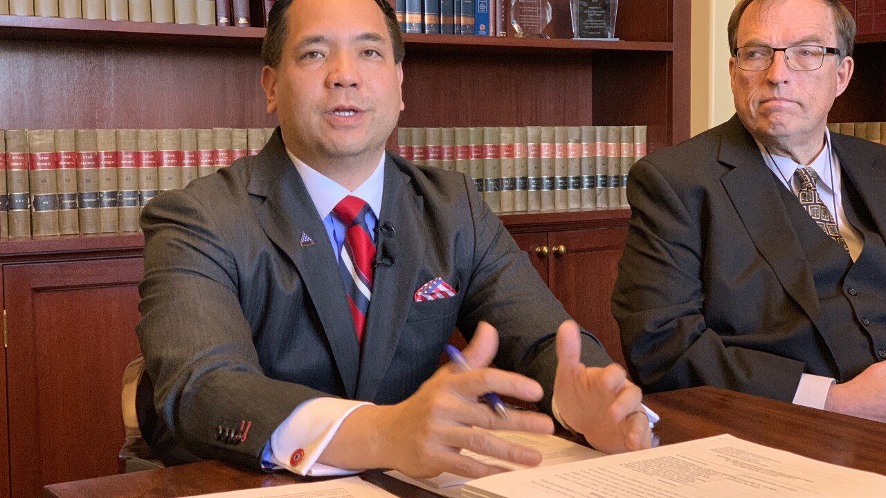 Utah Attorney General Sean Reyes won't run for governor, but will seek re-election