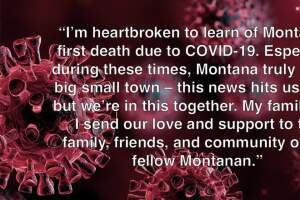Governor Bullock announces first COVID-19 death in Montana