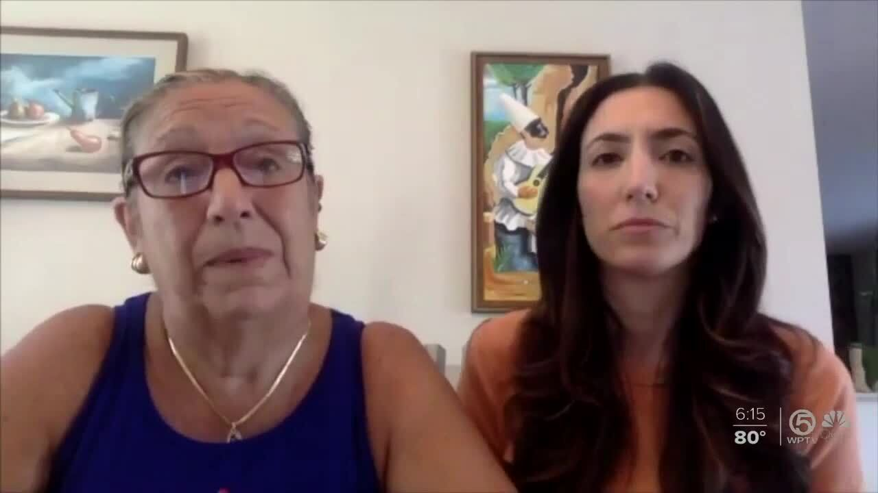 Rosalia Cordaro speaks about condo collapse via Zoom
