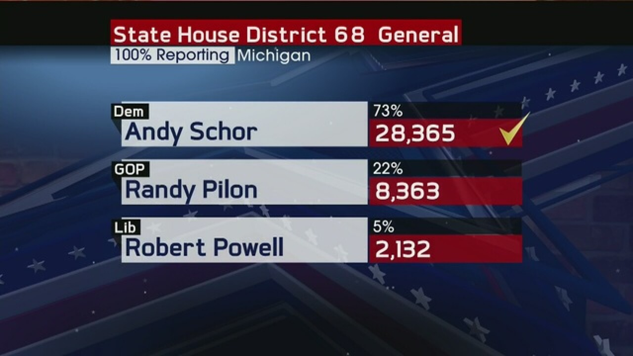 Results: Ingham, Clinton County State House reps