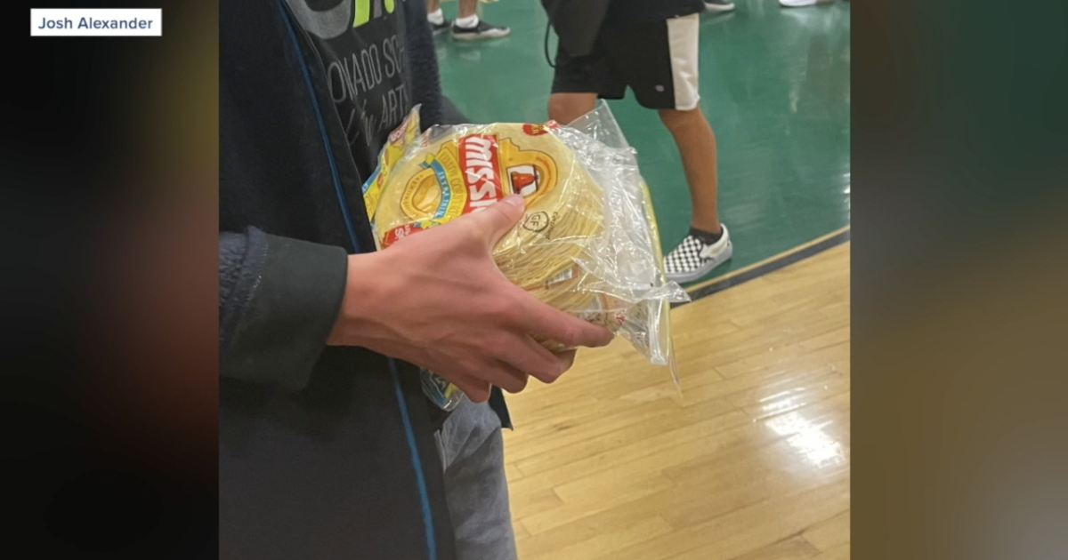 Man who brought tortillas to Coronado High game speaks out