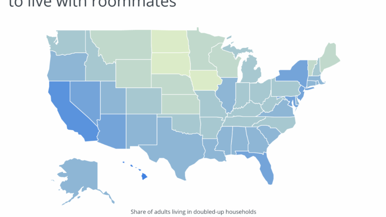 Chart2_Hawaii and CA residents are most likely to live with roommates.png