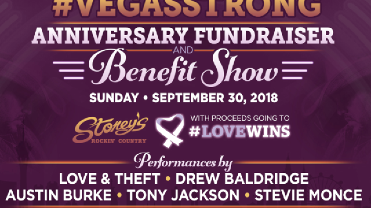 Stoney's hosts Vegas Strong Benefit Show