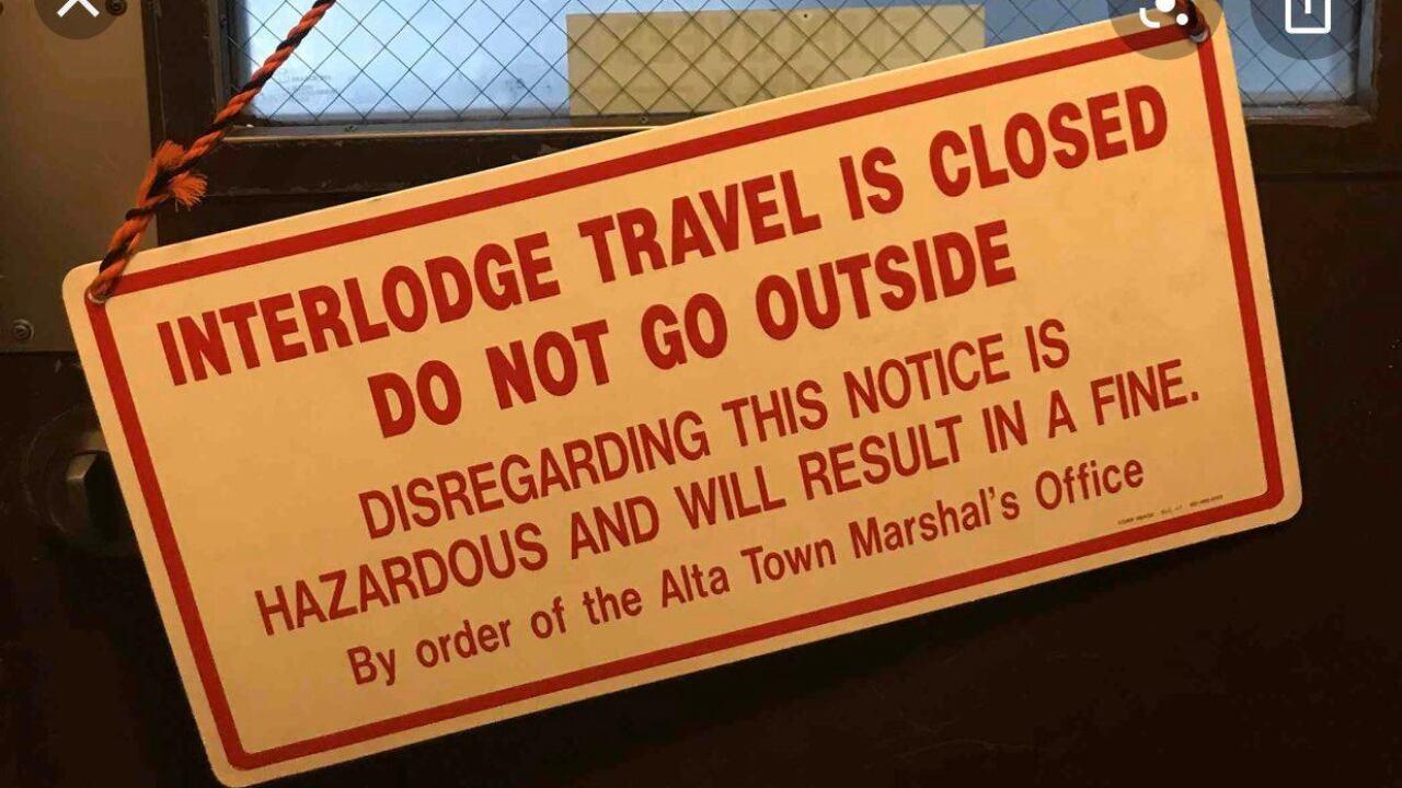 Interlodge Travel Closed at Alta