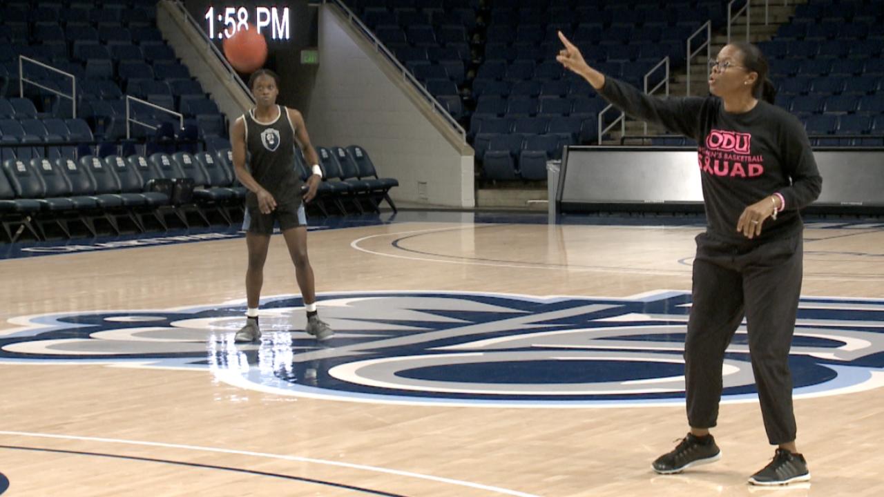 ODU women's basketball coach Nikki McCray