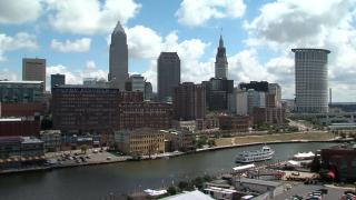 city of Cleveland skyline