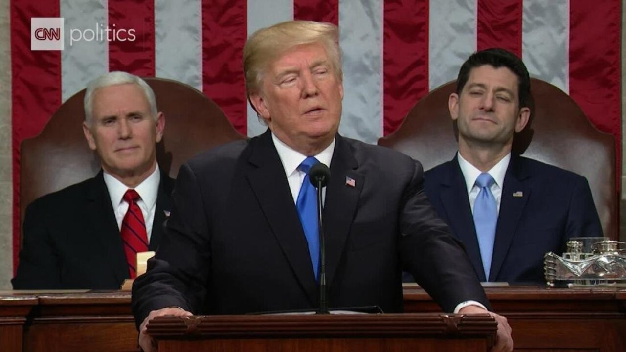 Watch: President Trump calls for rejection of 'politics of revenge' in State of the Unionaddress