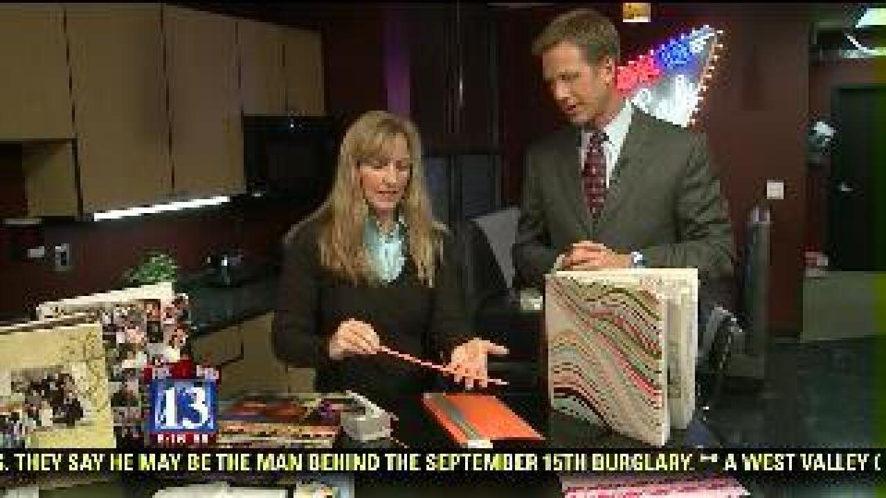 Rebecca Brand previews upcoming scrapbook expo