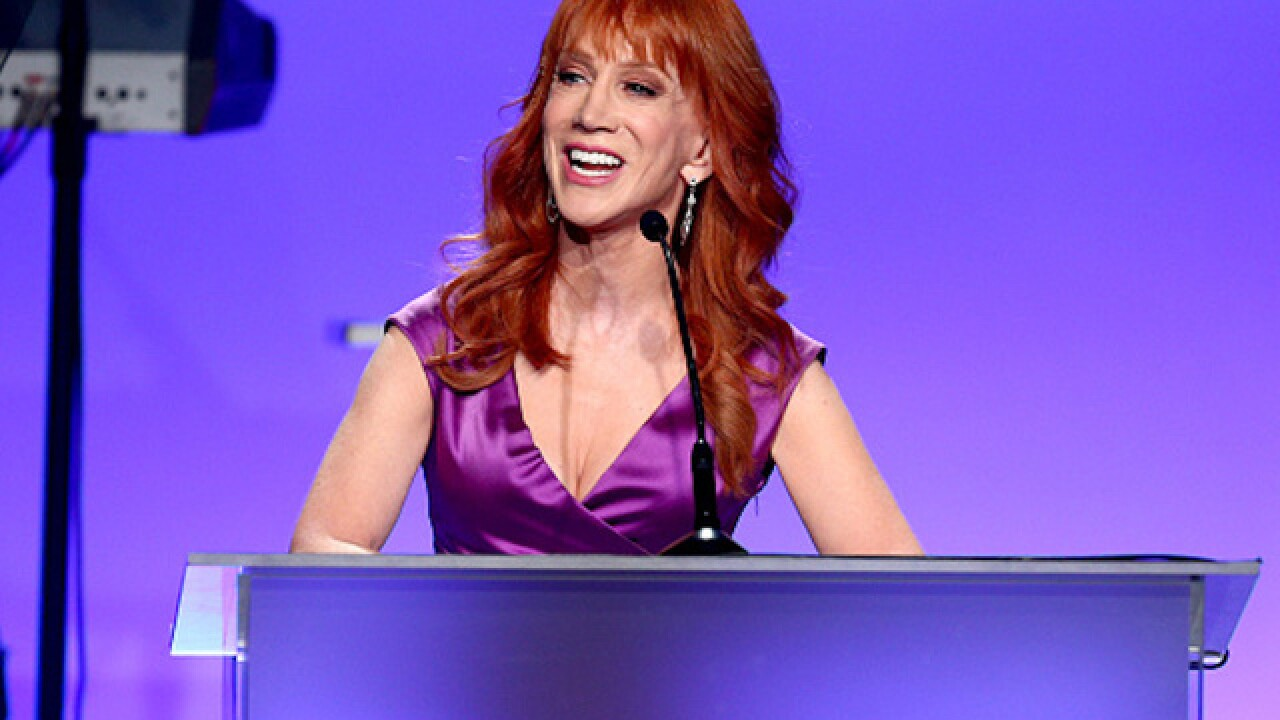 CNN cuts ties with Kathy Griffin after anti-Trump photos
