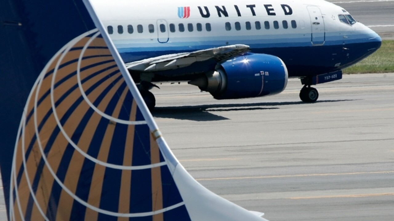 United Airlines flight evacuated after blown tire in Denver