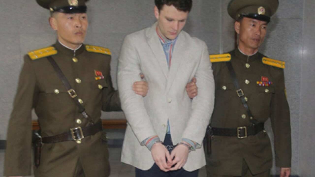 Otto Warmbier's parents sue North Korea for 'brutal torture' and 'murder' of their son