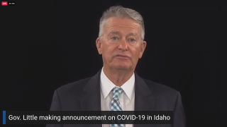 Gov. Brad Little reactivating National Guard to help Idaho hospitals