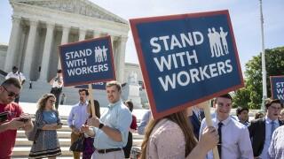 Supreme Court deals big setback to labor unions