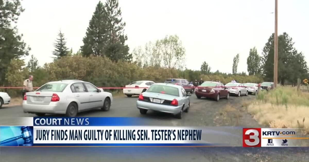 Washington man convicted for the murder of Sen. Tester's nephew