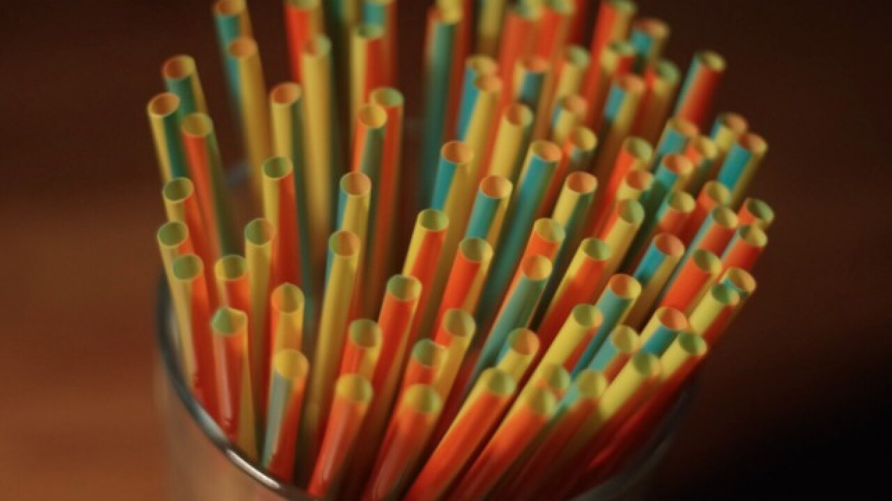 New California law limits single-use plastic straws in restaurants