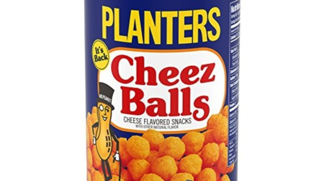 Planters' Cheez Balls bounce back after 12-year absence