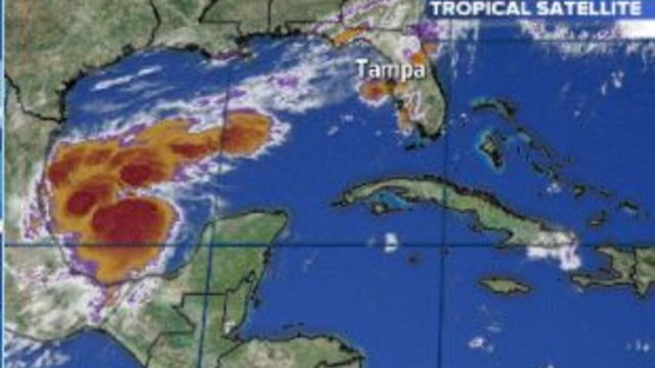 Hurricane Katia forms in Gulf of Mexico