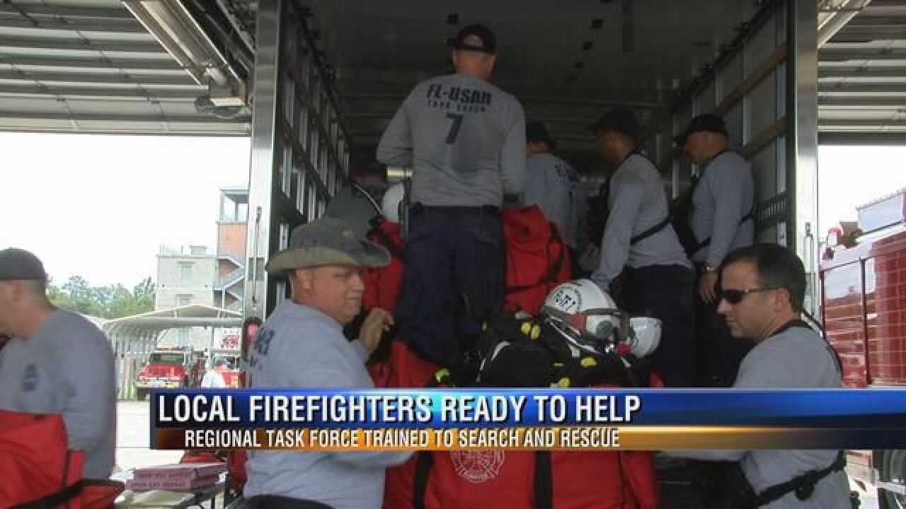 Firefighters Head East to Assist Those Affected by Hurricane Matthew - 1