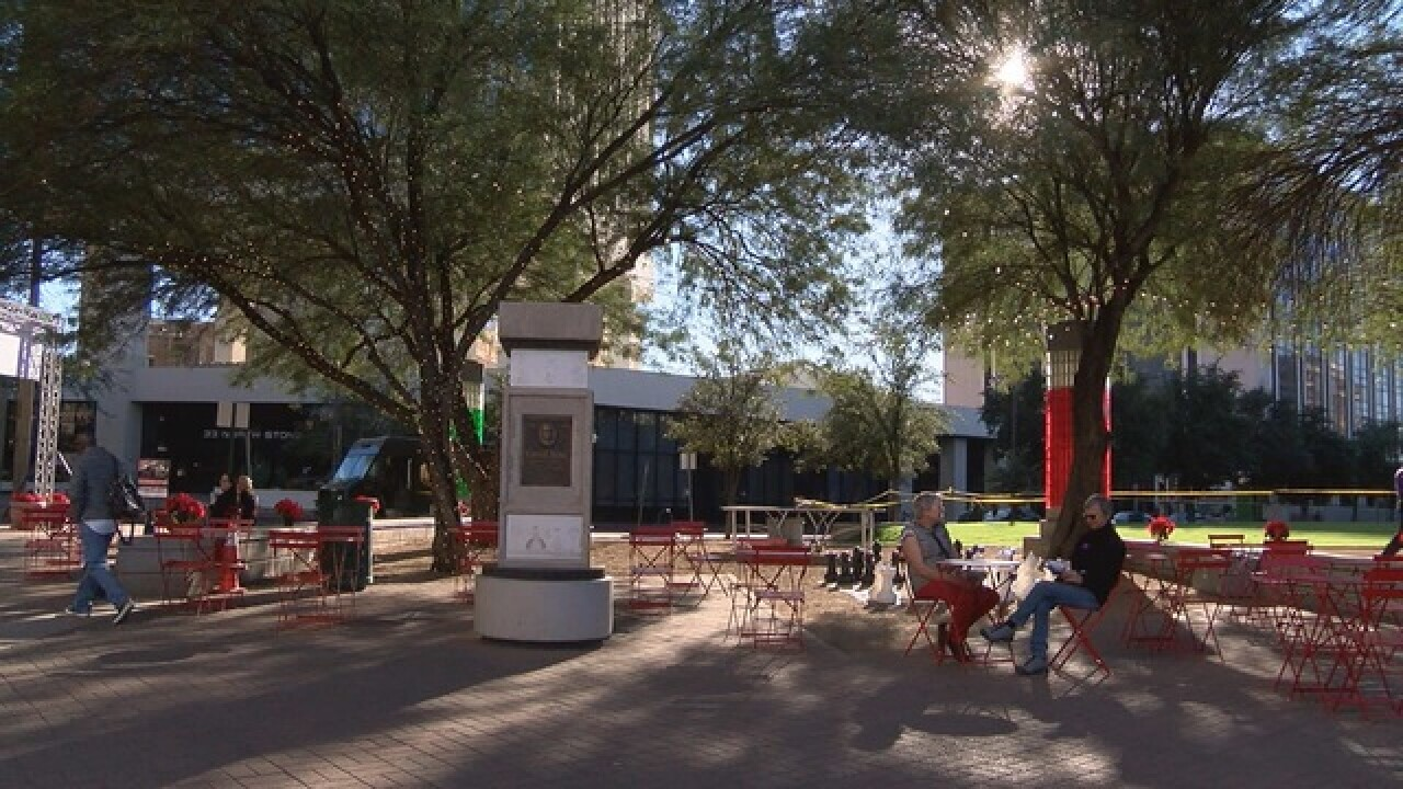Renovations made to Jacome Plaza in downtown Tucson
