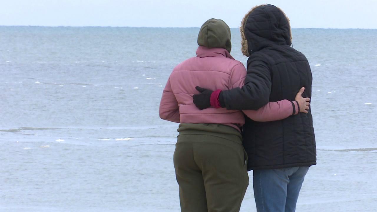 Family praying man missing in Lake Michigan is found