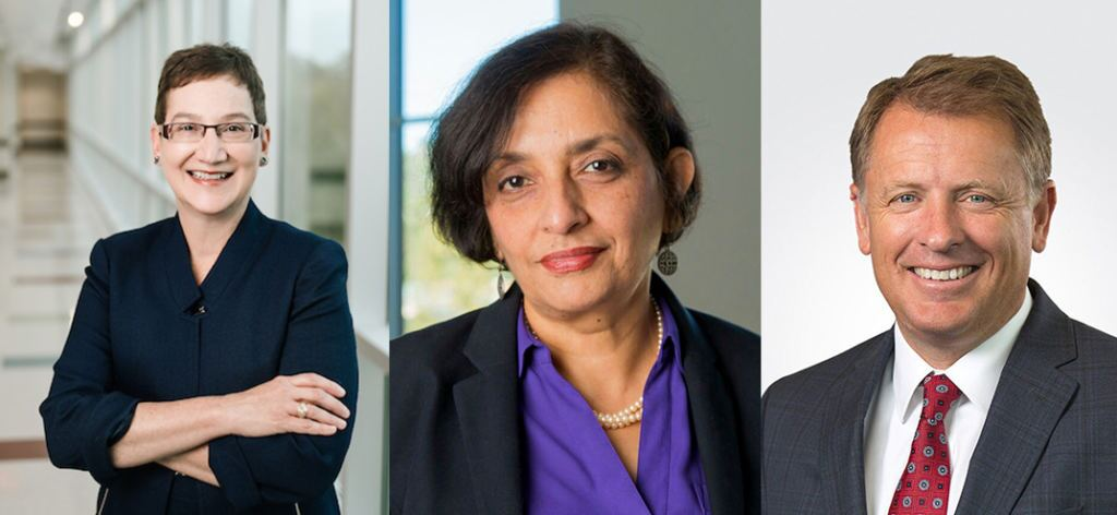 three finalists president university of utah