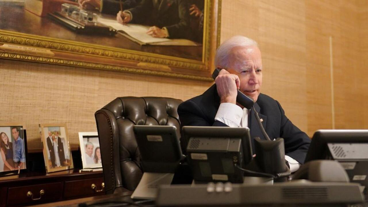 Biden spoke with Abbott regarding winter weather situation, reiterated federal government's support