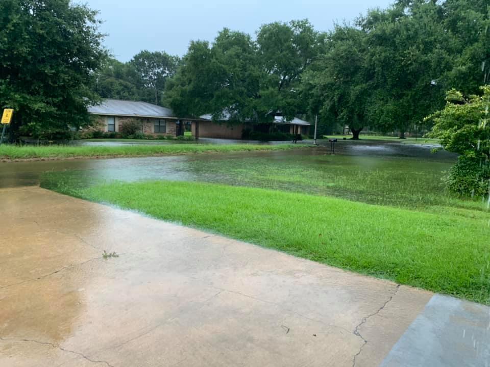 Flooding in Ville Platte: Denia Mayberry
