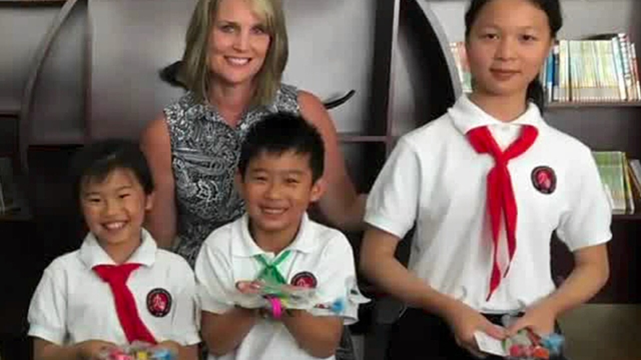 Program sends NKY principal to China