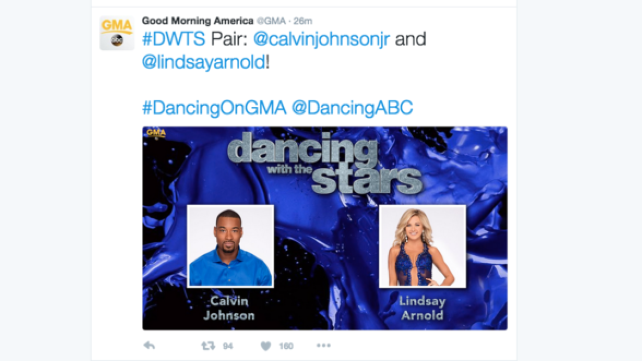 Dancing with the Stars cast revealed on Good Morning America