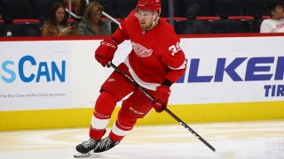 Anthony Mantha wants a long-term contract with Red Wings, but expects complicated negotiations