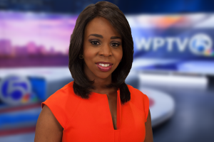 Hollani Davis anchors WPTV's morning traffic and Today on 5 at 11.