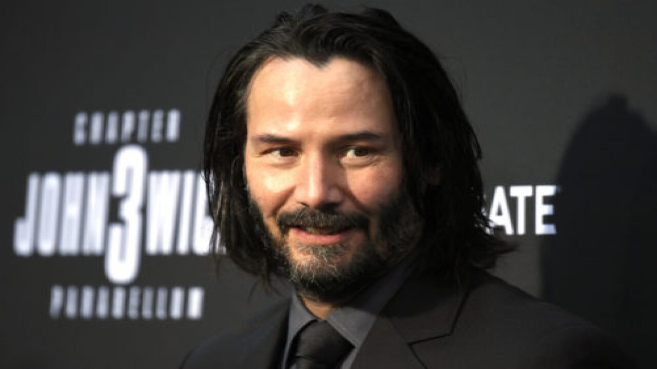 Keanu Reeves Is A Tumbleweed In The New 'SpongeBob' Movie