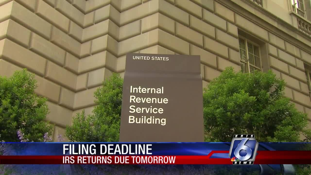 Tax deadline looms on Wednesday