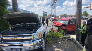 High speed chase ended in major crash